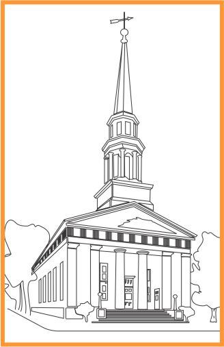 Baptist church line tracing