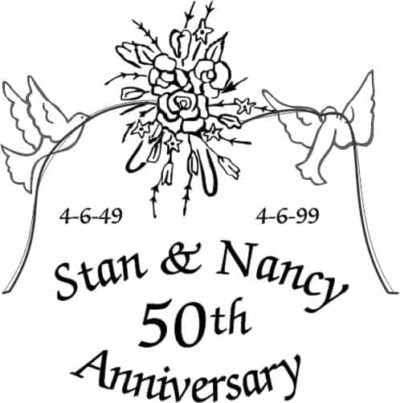 50th anniversary Stan & Nancy
