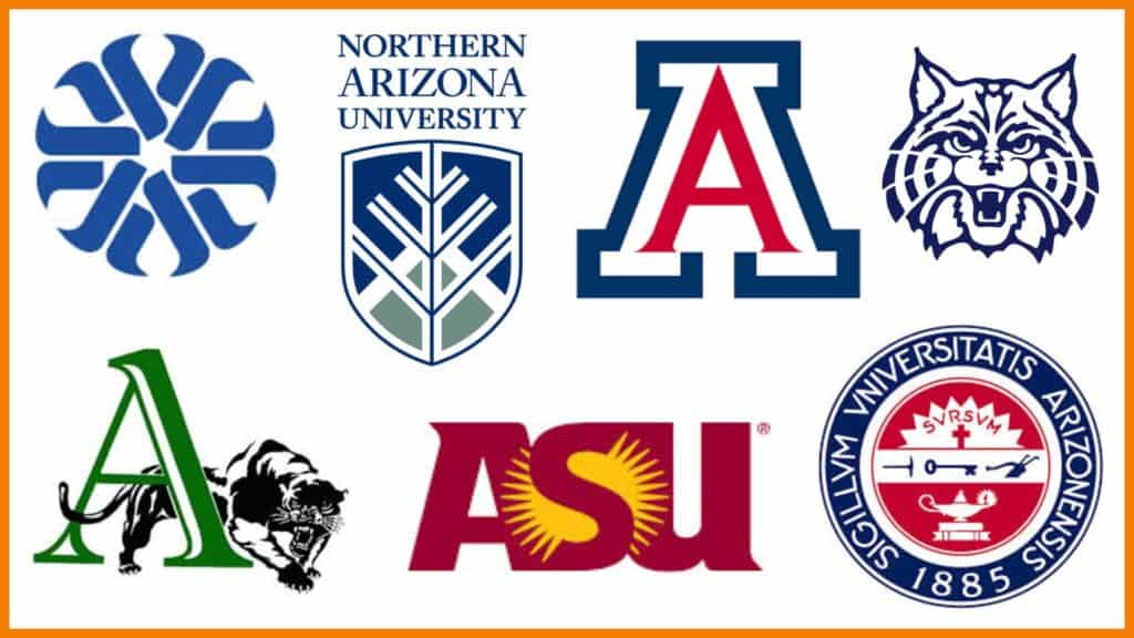 Schools and college logos