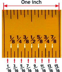 tape measure closeup