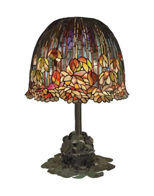 Tiffany Pond Lily Lamp