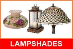 repair of stained glass lampshades