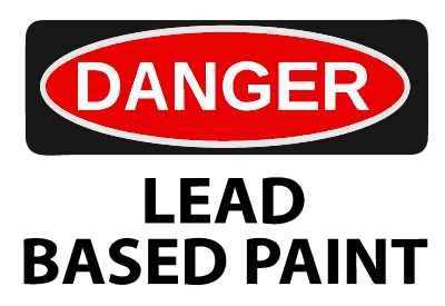 Lead paint is dangerous