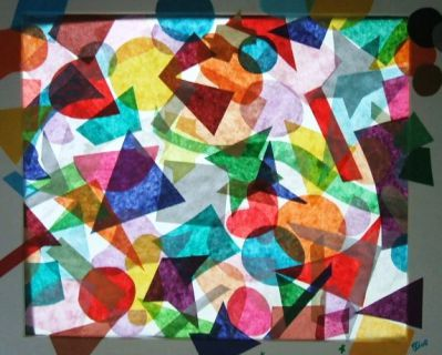 tissue stained glass