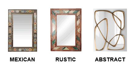 Mexican, rustic & abstract frames