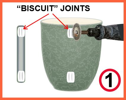 Make biscuit joint