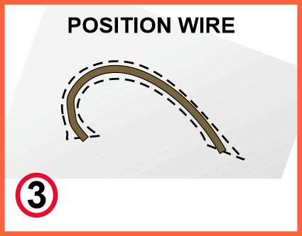 Bend wire