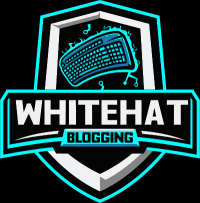 White hat blogging logo