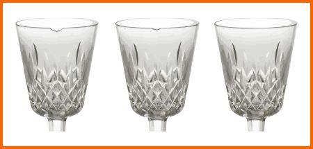 Chipped wine glasses repaired by Artistry in Glass