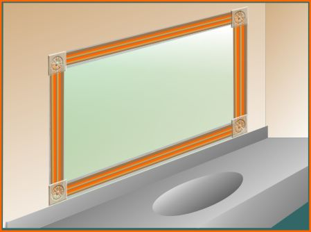 Frame with corner blocks - no need for miters