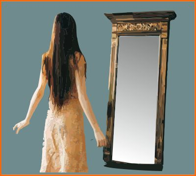 A mirror for dressing is vital in the bedroom