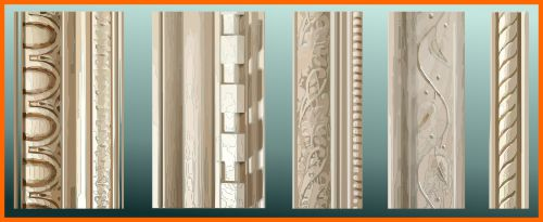 Molding available at Lowes