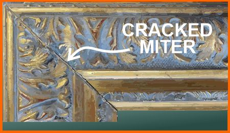 Cracked miter joint